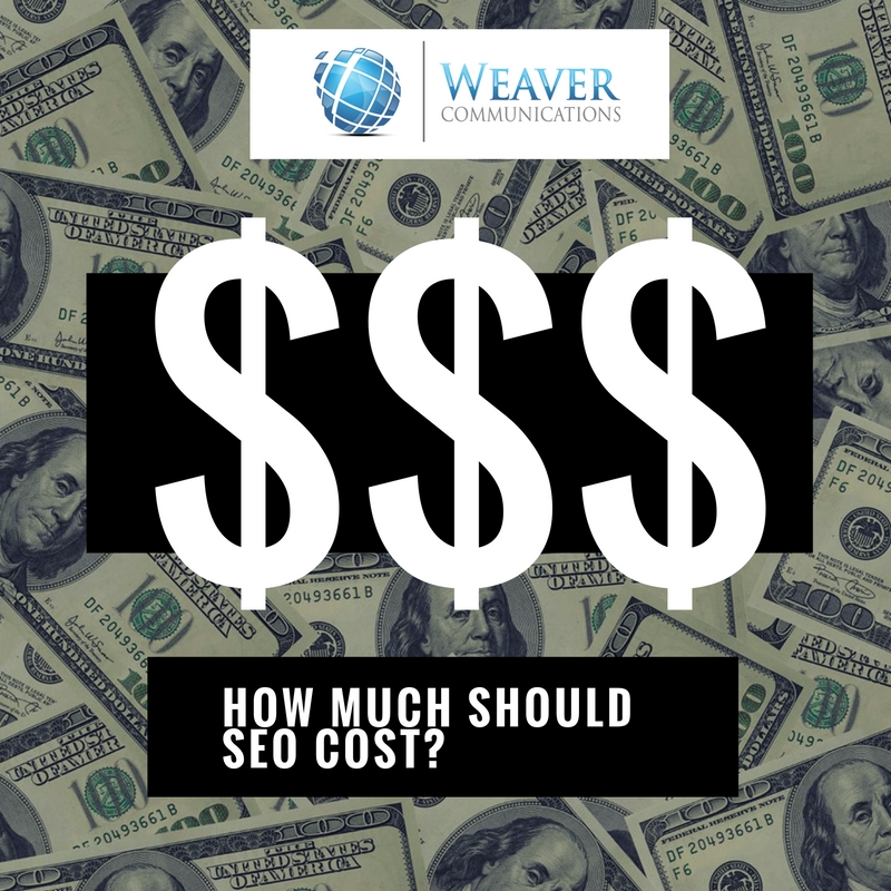 weaver communication seo services cost