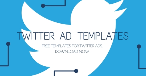 free twitter ads template