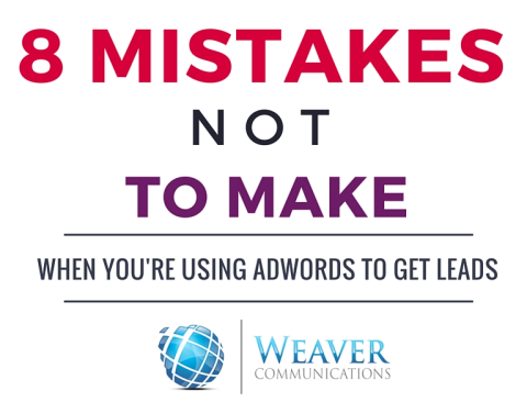 8 mistakes not to make with google adwords