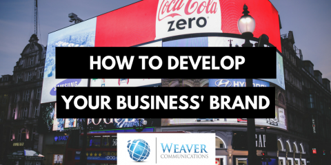 how to develop your business brand