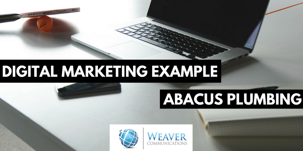 abacus plumbing digital marketing strategy