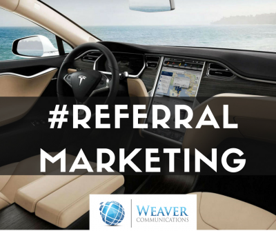 tesla referral marketing strategy blog post