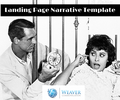 landing page narrative template