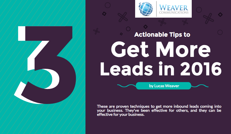 3 Actionable Tips to Get More Leads thumbnail