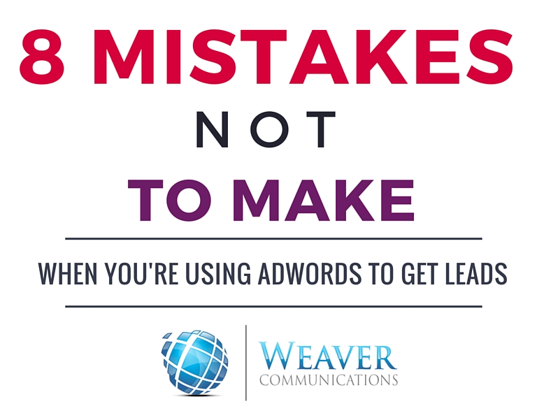 8 AdWords Mistakes Not to Make Thumbnail
