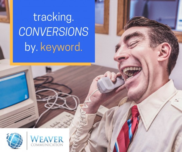 google adwords conversion tracking by keyword
